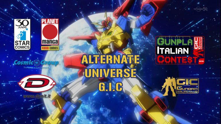 Alternate Universe Gunpla Italian Contest