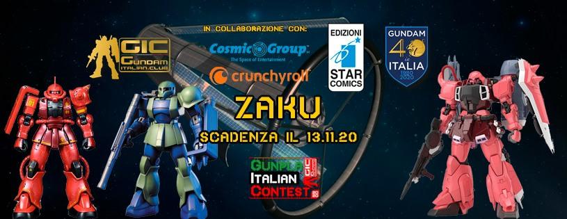 Zaku Gunpla Italian Contest